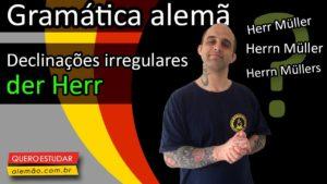 Aprenda a n-Deklination em alemão