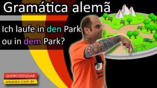 Aprenda as Wechselpräpositionen em alemão: acusativo e dativo