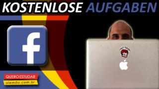 Übe Deutsch auf Facebook!