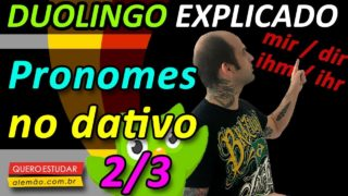 Pronomes no dativo