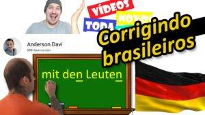 Correção de alemão