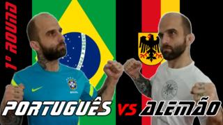 Português versus alemão