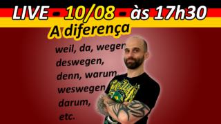 Você já parou para pensar no uso das conjunções na língua alemã? Reparou que não é tão diferente da língua portuguesa?