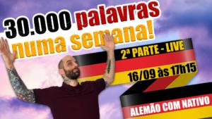 aprenda 30.000 palavras alemãs