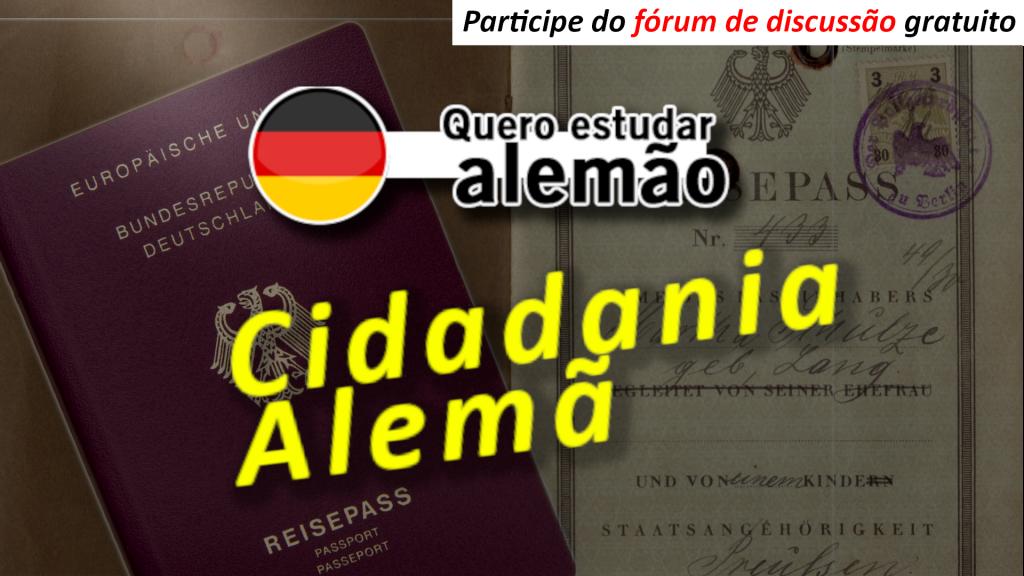 Cidadania alemã