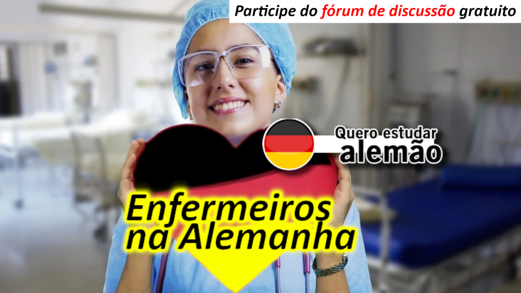 Enfermeiro / Enfermeira na Alemanha