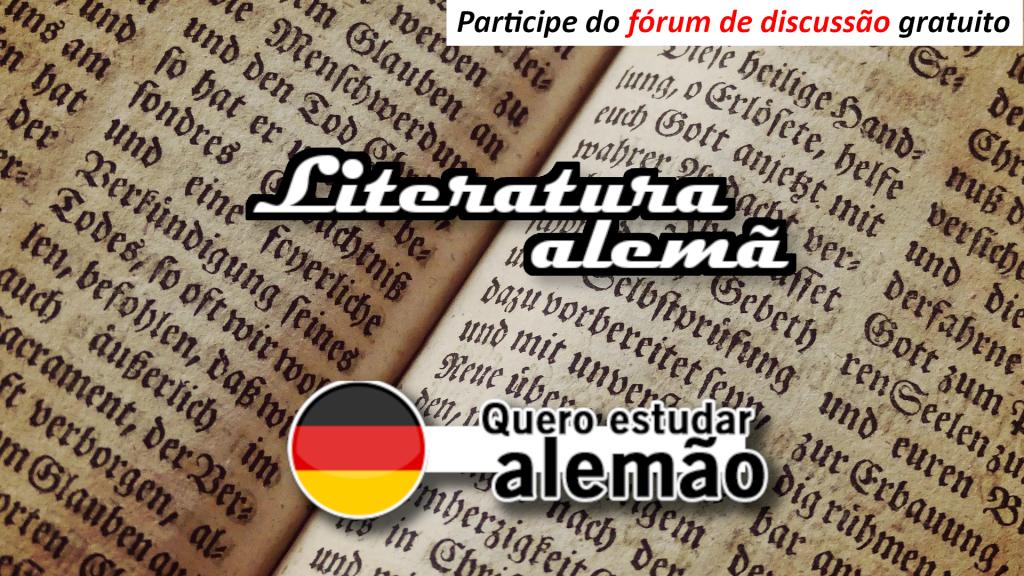 Literatura alemã